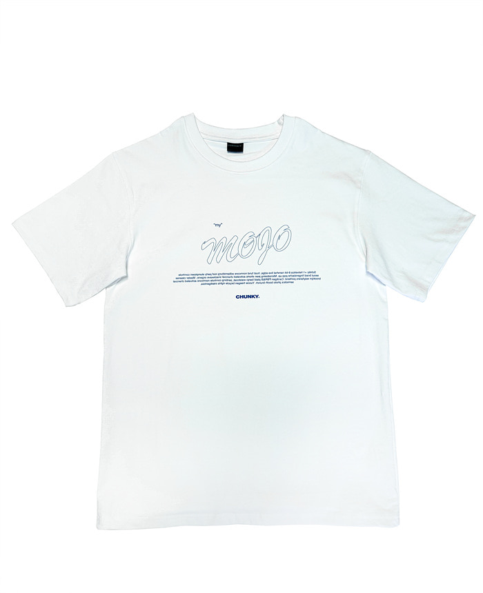 MOJO SHORT SLEEVE_white