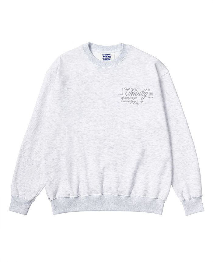 GLITTER SWEAT SHIRT_gray